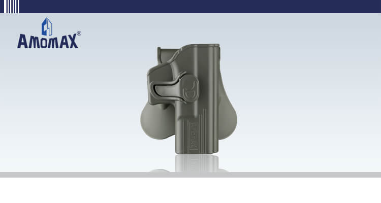 Amomax tactical holster for Glock 19 | OD Green
