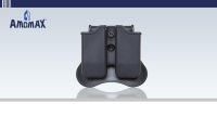 Airsoft Beretta / Sig Sauer Double Magazine Pouch | Amomax