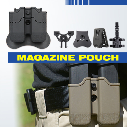 Airsoft Glock Double Magazine Pouch | Amomax