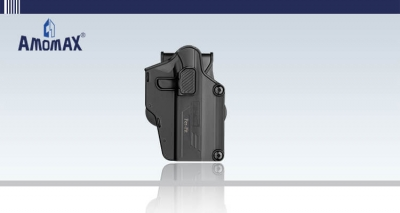 Fits 80+ handguns such as Glock, Sig, S&W, Beretta, etc. | Amomax Per-Fit Holster