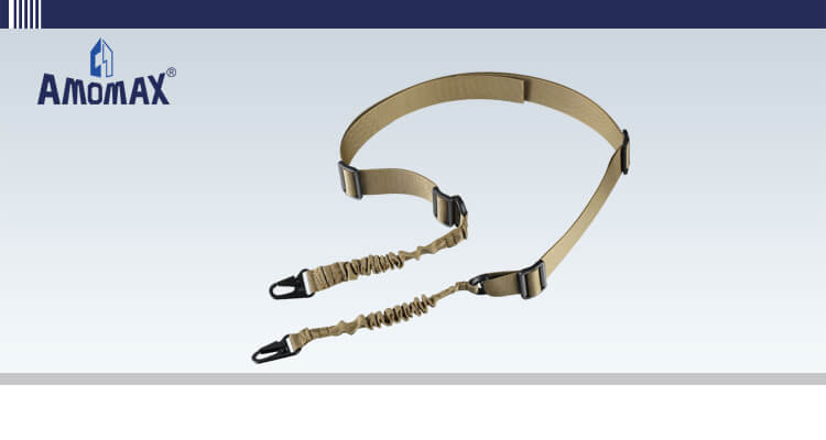 Two Point Sling with HK Style Clip - Coyote Brown | Amomax