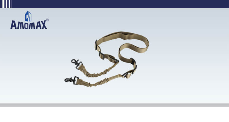 Two Point Sling with Round Hook - Coyote Brown | Amomax