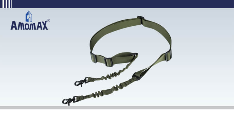 Two Point Sling with Round Hook - OD Green | Amomax