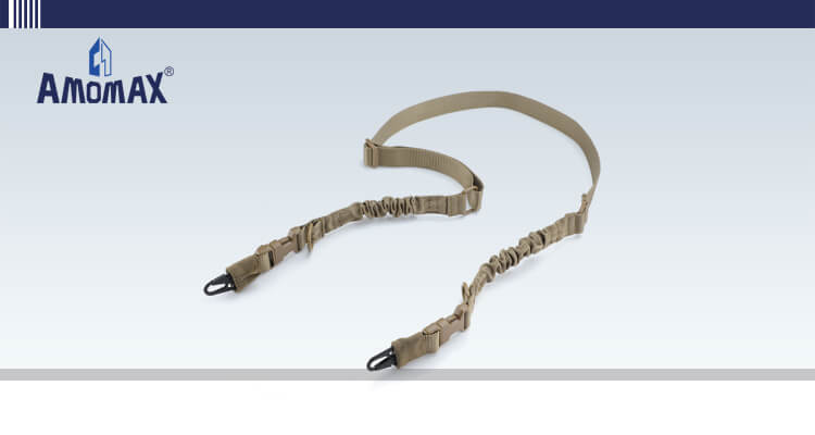 Two Point Sling with HK Style Clip for Heavy Duty - Coyote Brown   Amomax