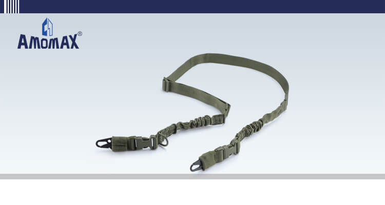 Two Point Sling with HK Style Clip for Heavy Duty - OD Green   Amomax