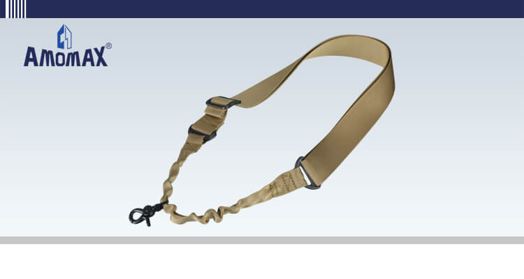 Single Point Sling with Round Hook - Coyote Brown | Amomax