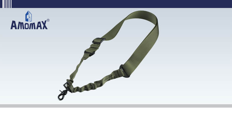 Single Point Sling with Round Hook - OD Green | Amomax