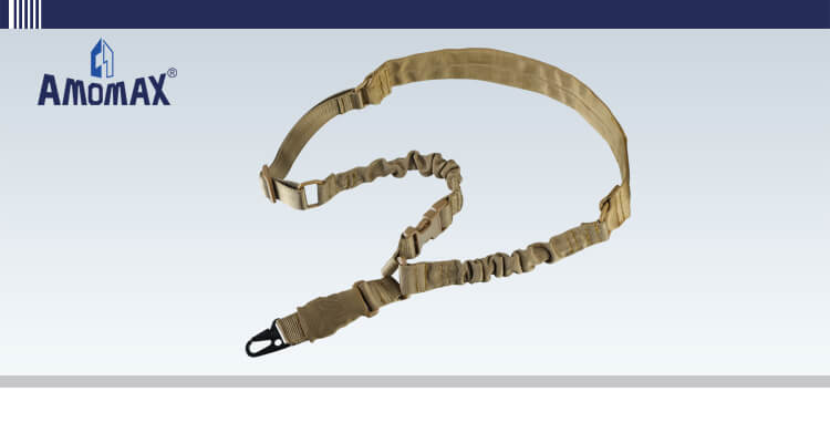 Padded Single Point Sling with HK Style Clip for Heavy Duty - Coyote Brown | Amomax
